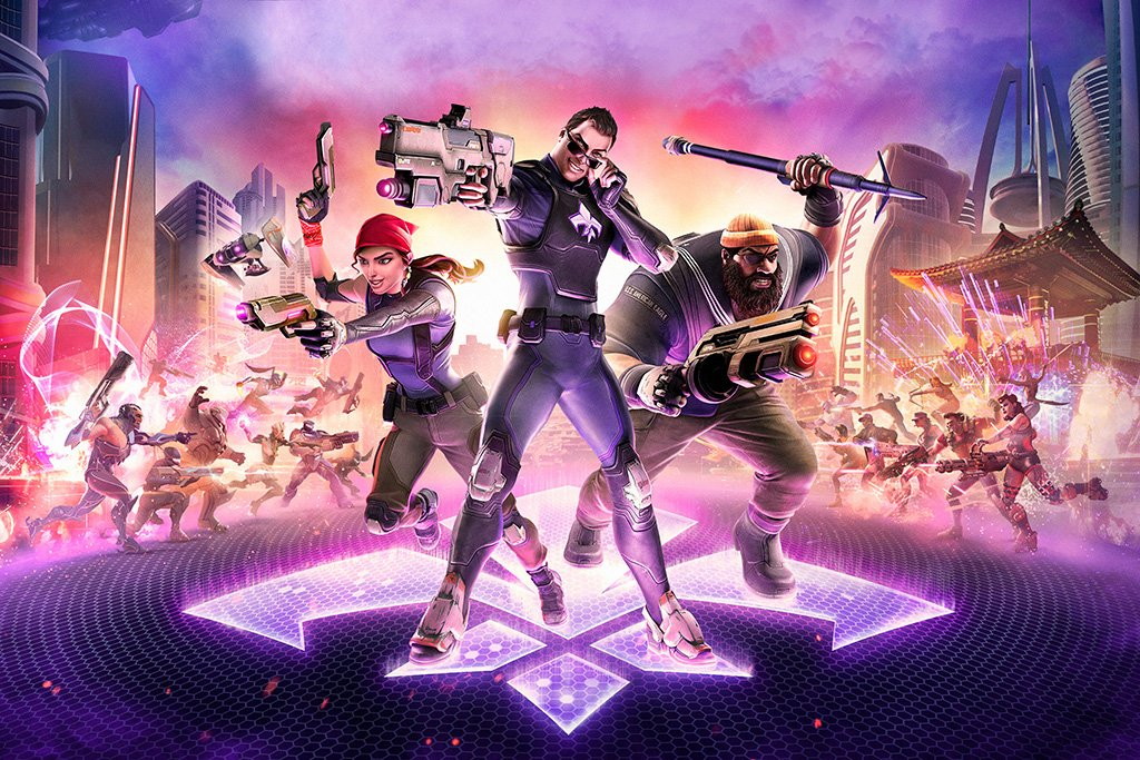 Agents of Mayhem 2017 Poster
