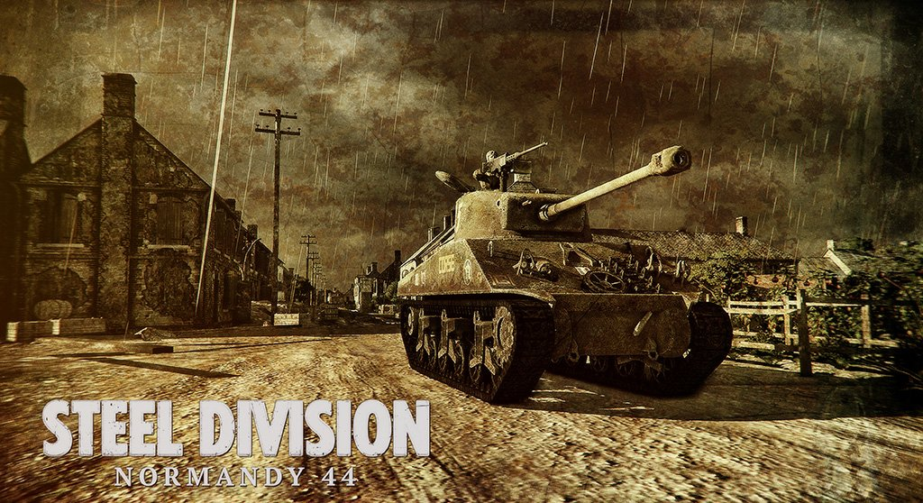 Steel Division Normandy 44 Game Poster