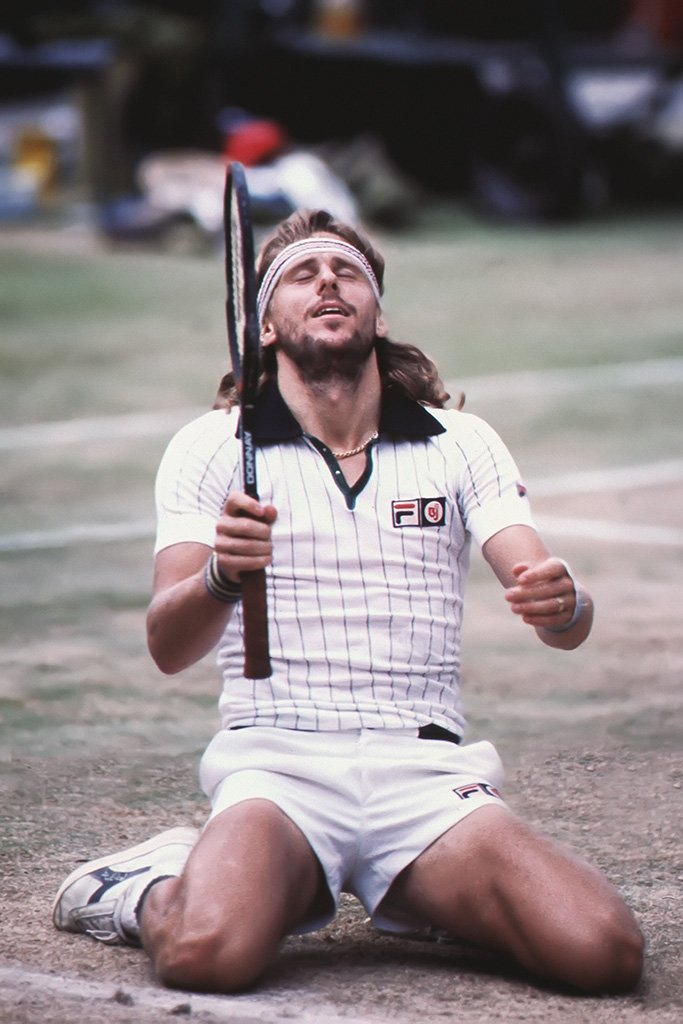 Bjorn Borg Tennis Player Poster