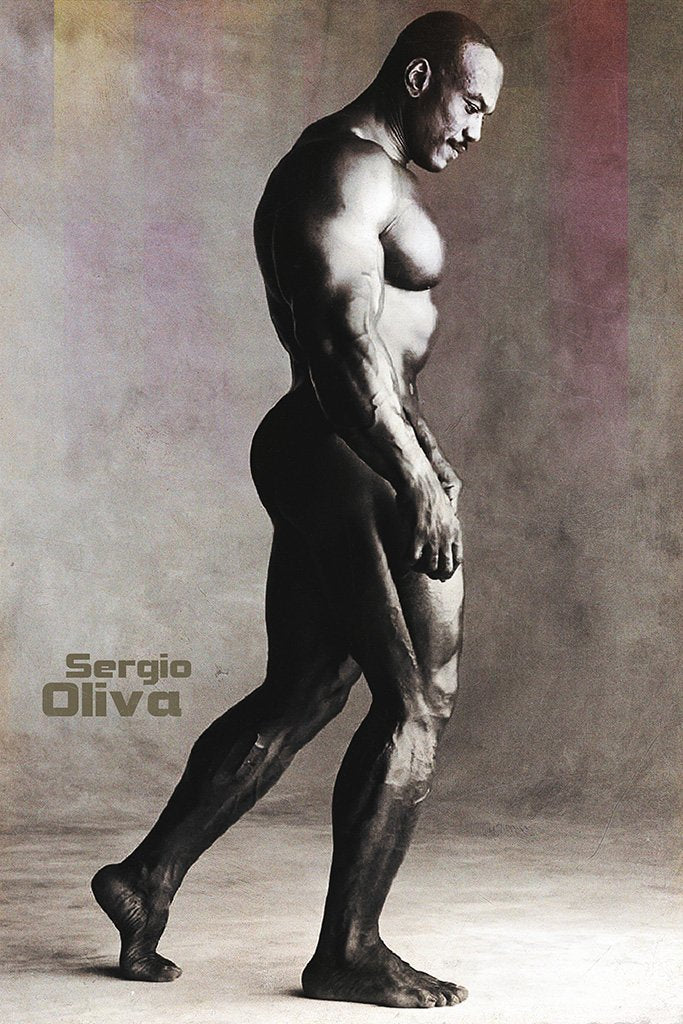 Sergio Oliva Black and White Poster