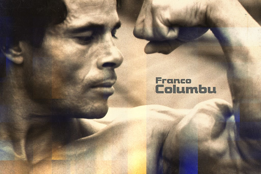 Franco Columbu Fan Art Poster