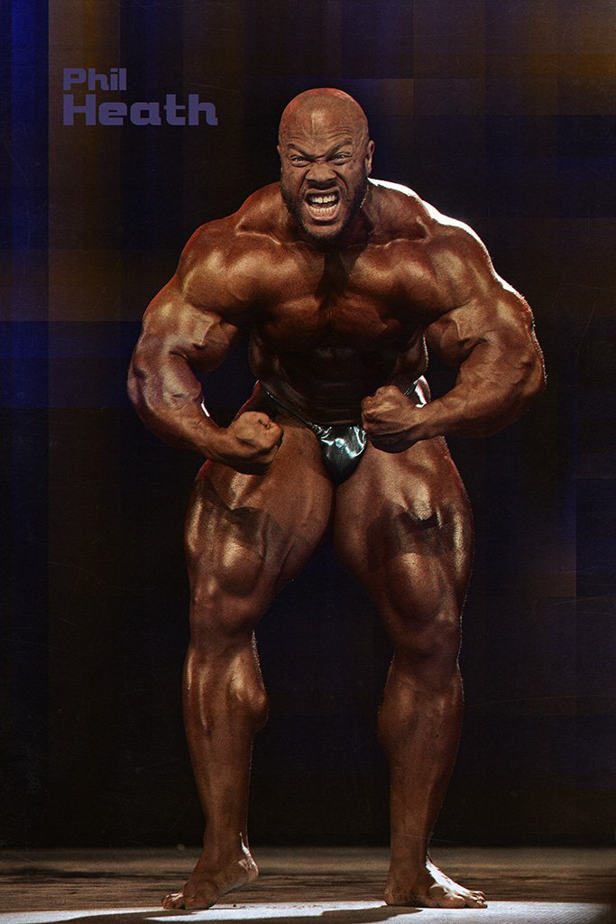 Phil Heath Bodybuilder Poster