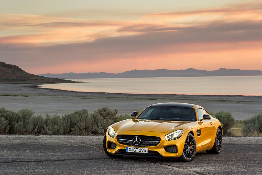 Mercedes-AMG GT Poster