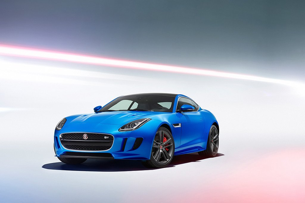 Jaguar F-Type Blue Poster