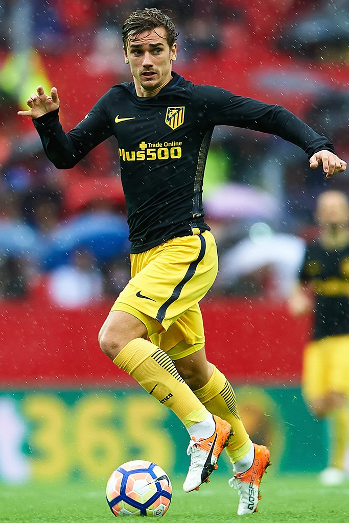 Antoine Griezmann Soccer Player Poster