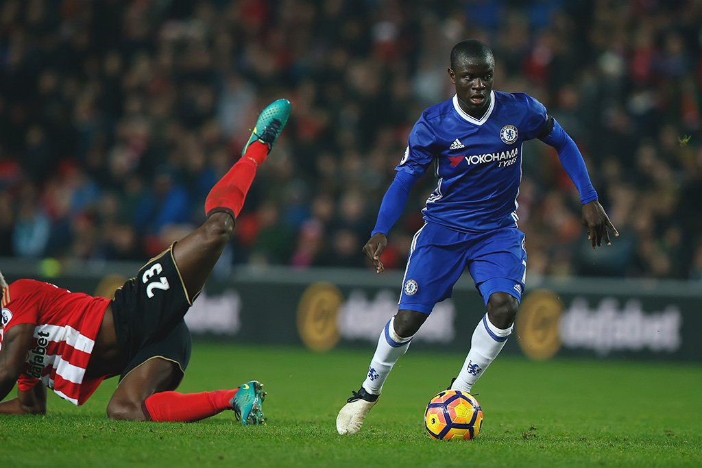 NGolo Kante Soccer Player Poster