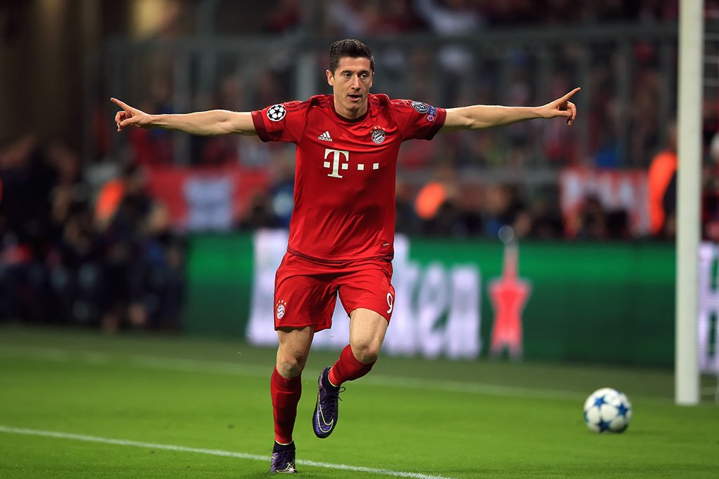 Robert Lewandowski Soccer Player Poster