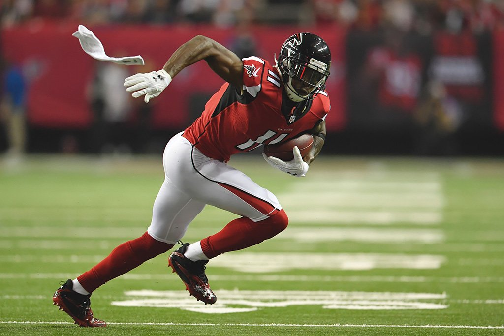 Julio Jones Running Poster