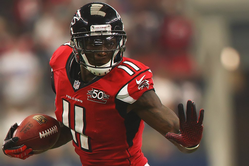 Julio Jones Play Poster