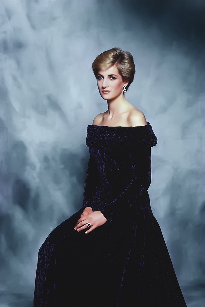 Diana Princess of Wales Poster