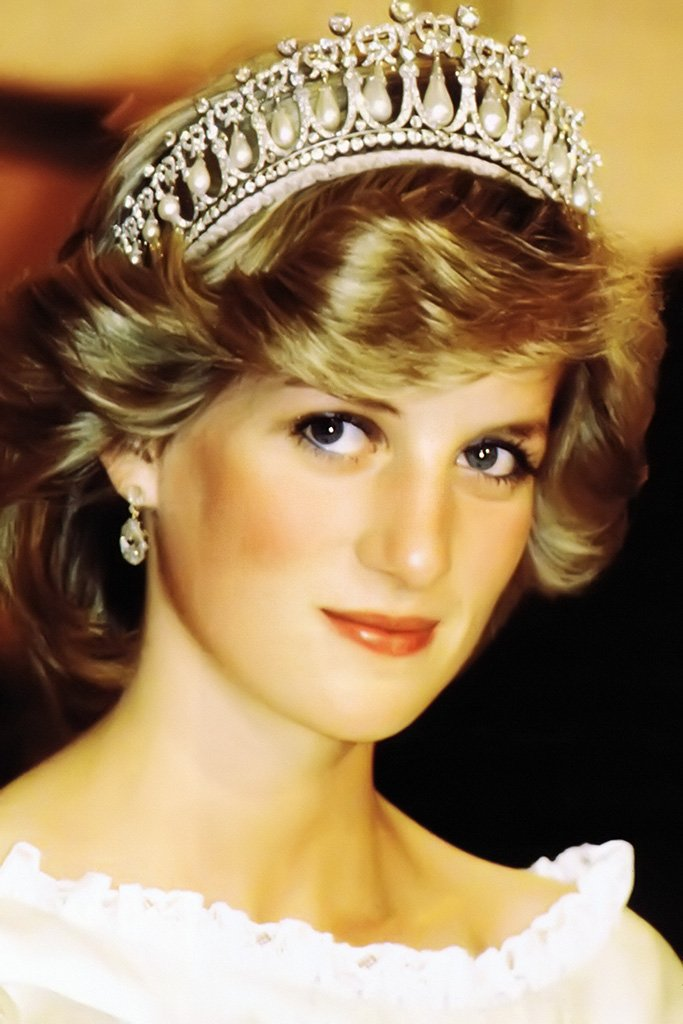 Diana Princess of Wales Portrait Poster