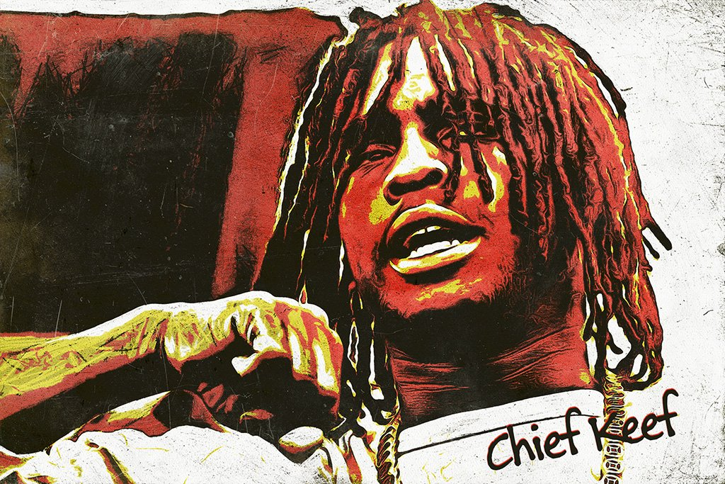Chief Keef Fan Art Poster