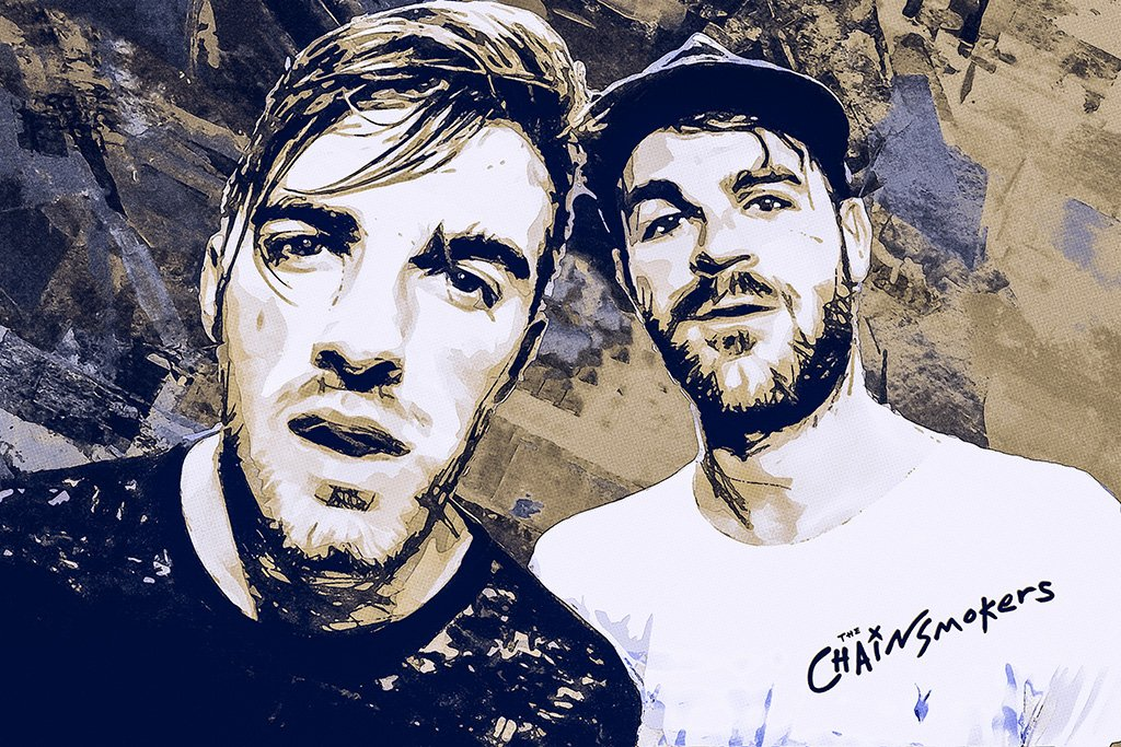 The Chainsmokers Fan Art Poster