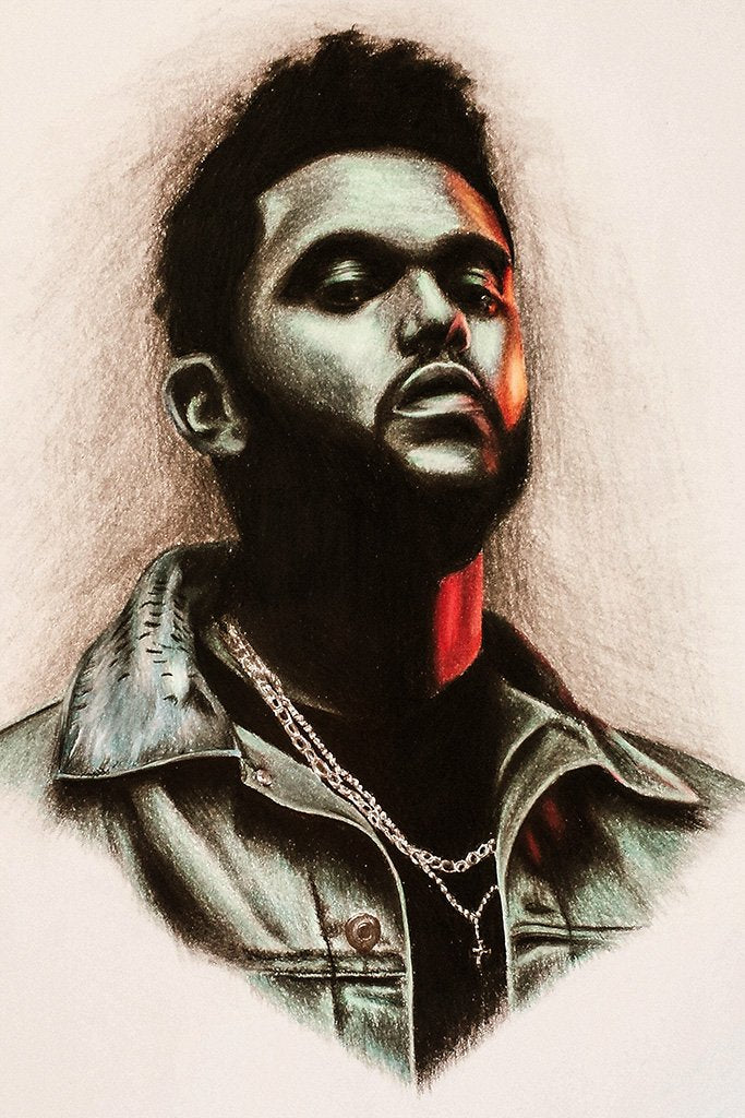 The Weeknd Fan Art Poster