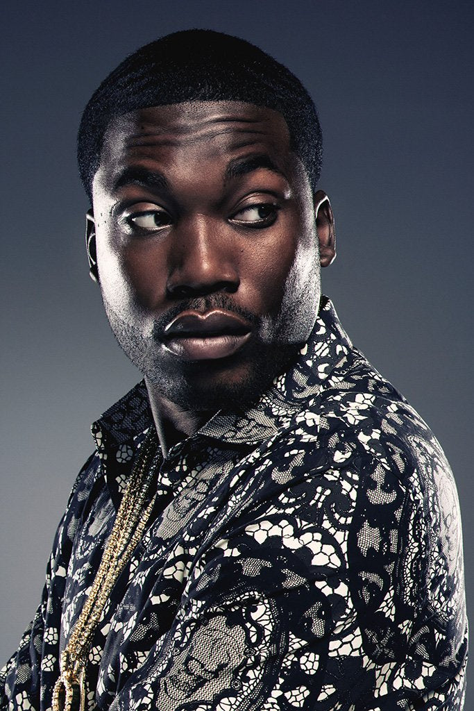 Meek Mill Portrait Poster