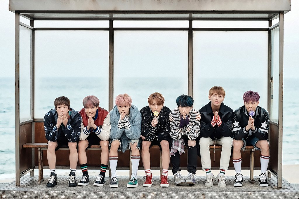 BTS Group Poster
