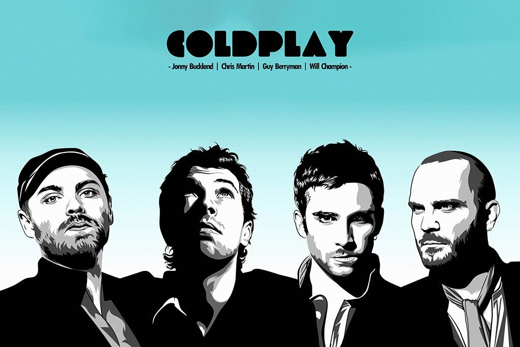 Coldplay Art Poster