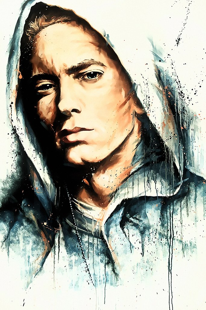 Eminem Fan Art Poster