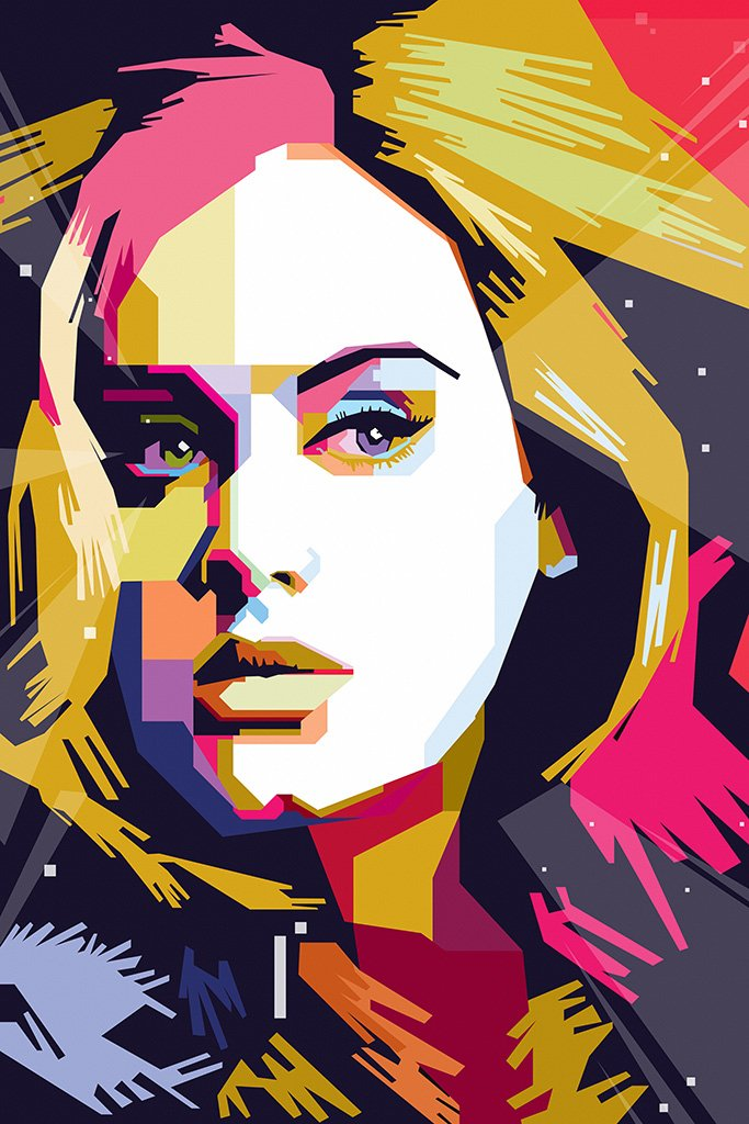 Adele Fan Art Poster