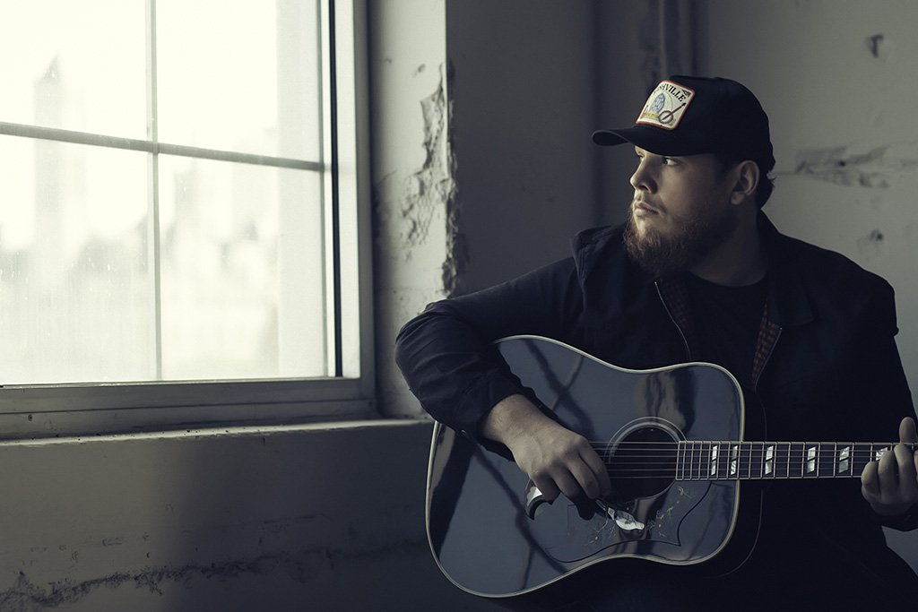 Luke Combs Guitar Poster