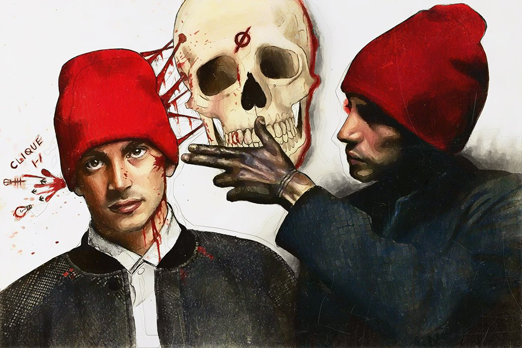 twenty one pilots Fan Art Poster