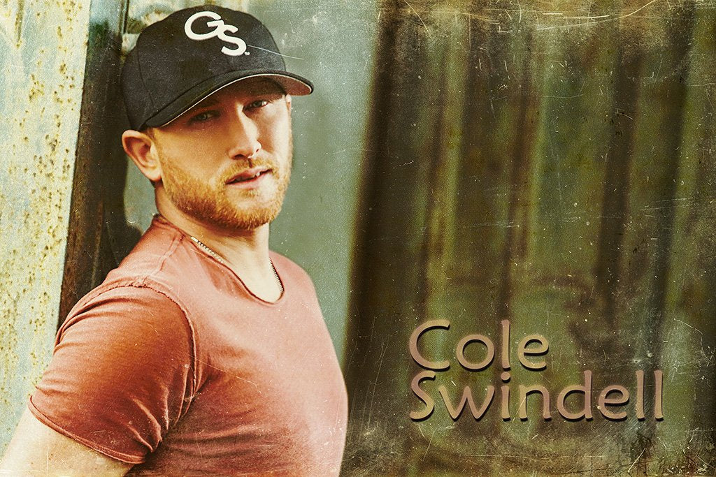 Cole Swindell Fan Art Poster