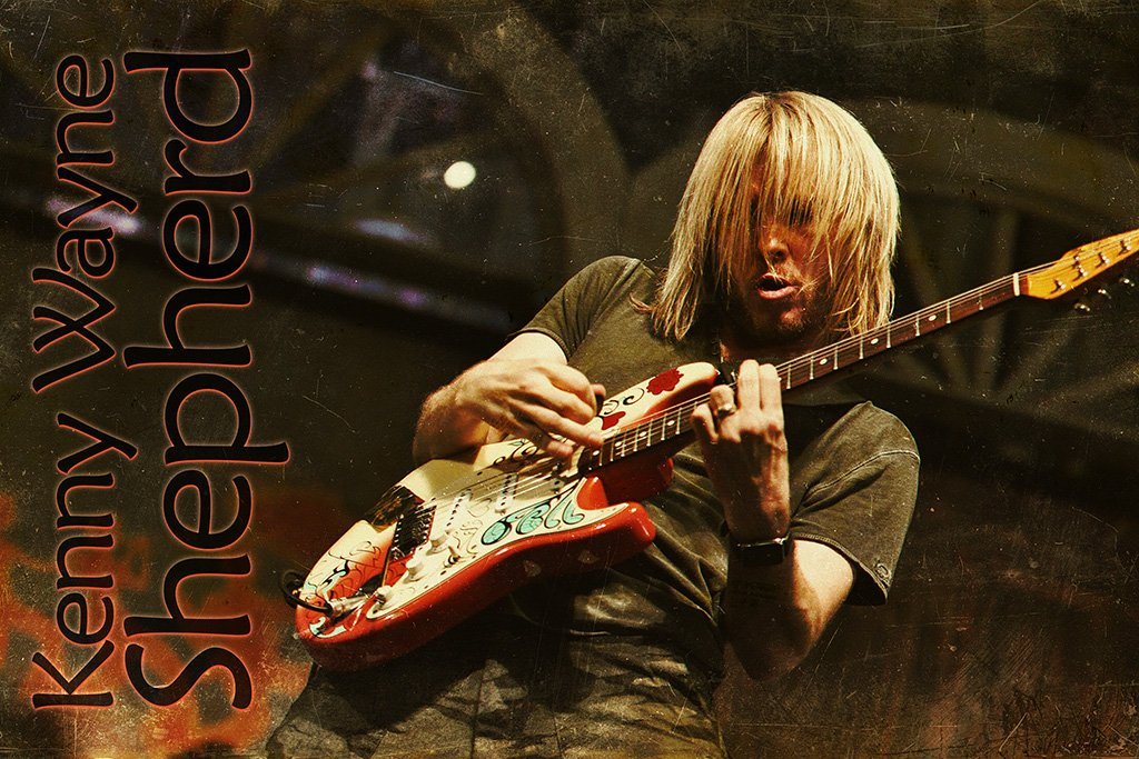 Kenny Wayne Shepherd Performance Poster