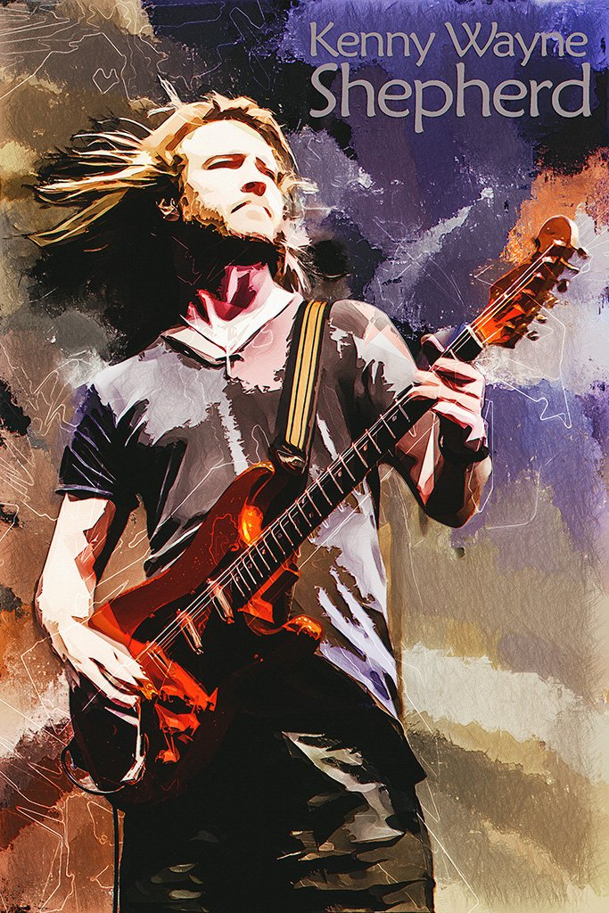 Kenny Wayne Shepherd Fan Art Poster