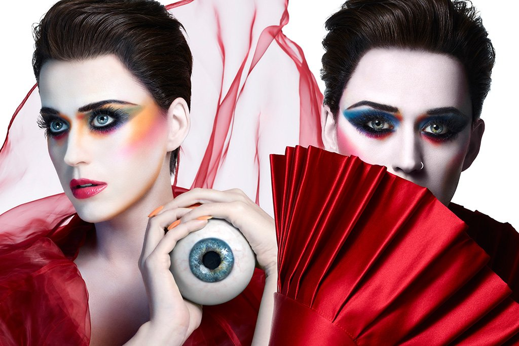 Katy Perry Eye Poster