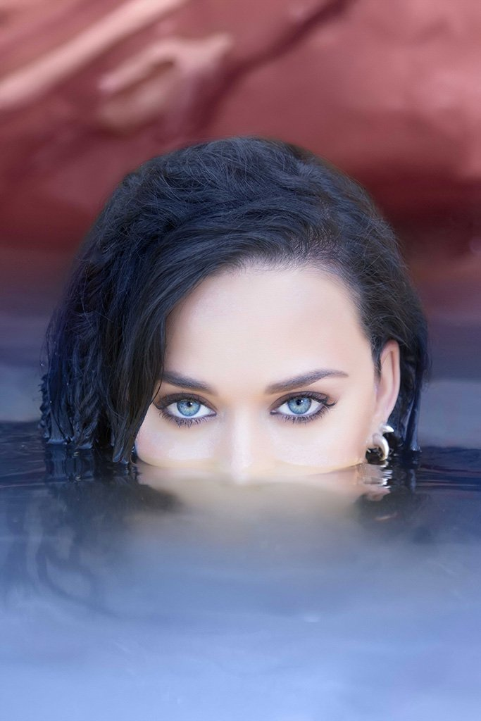 Katy Perry Under Water Poster