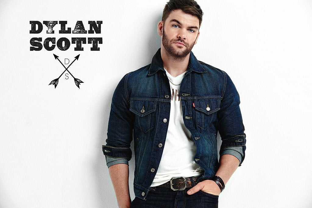 Dylan Scott Country Music Poster