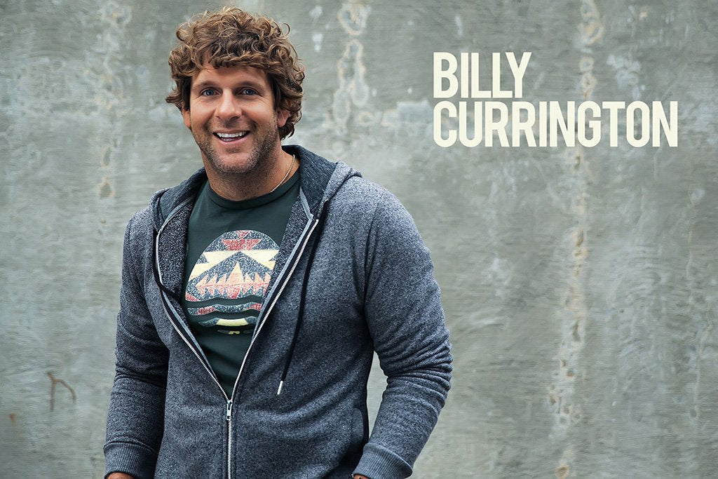Billy Currington Music Poster