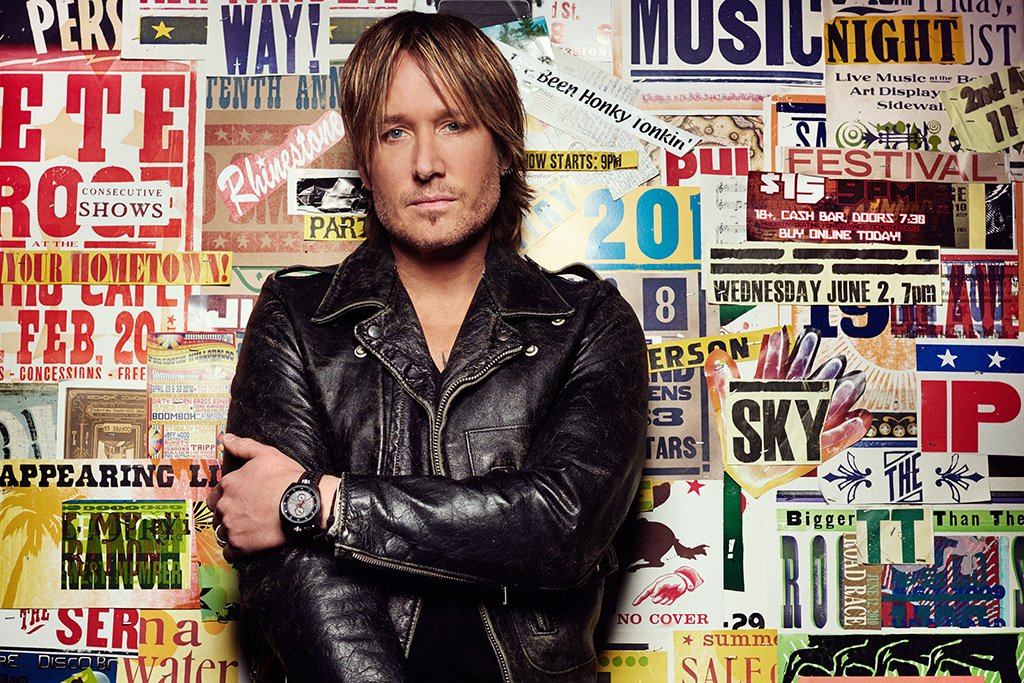 Keith Urban 2017 Poster