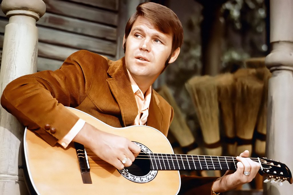 Glen Campbell Young Poster