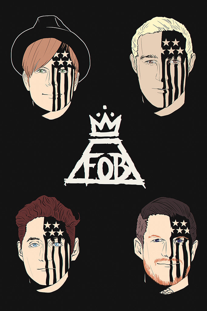 Fall Out Boy Pop Punk Poster
