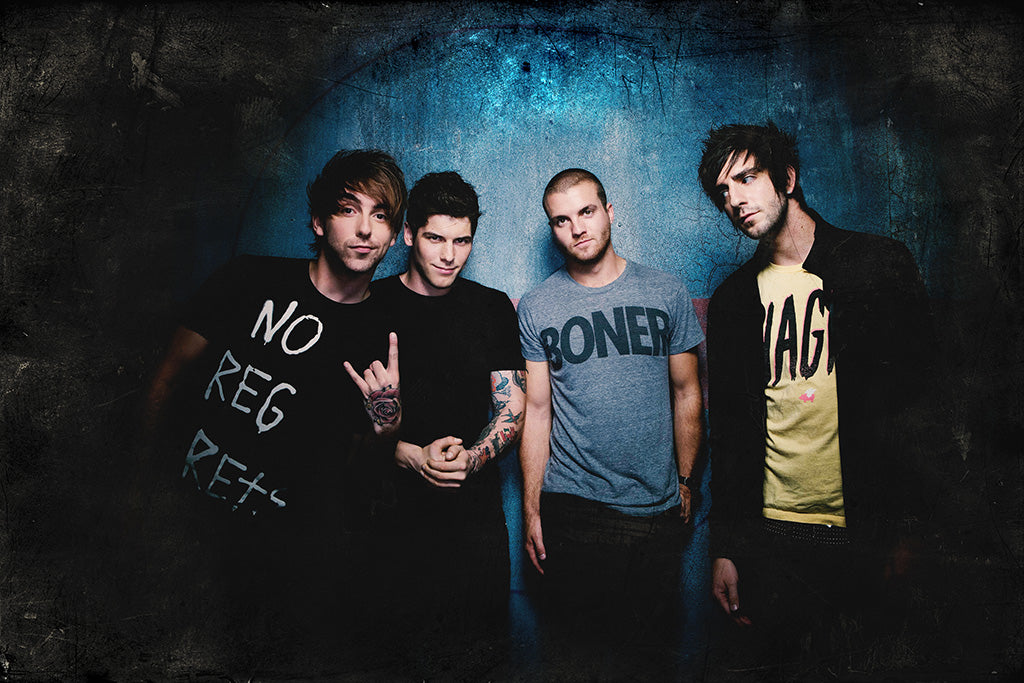 All Time Low Pop Punk Band Poster