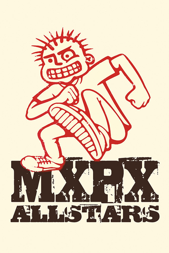 MxPx Pop Punk Band Poster