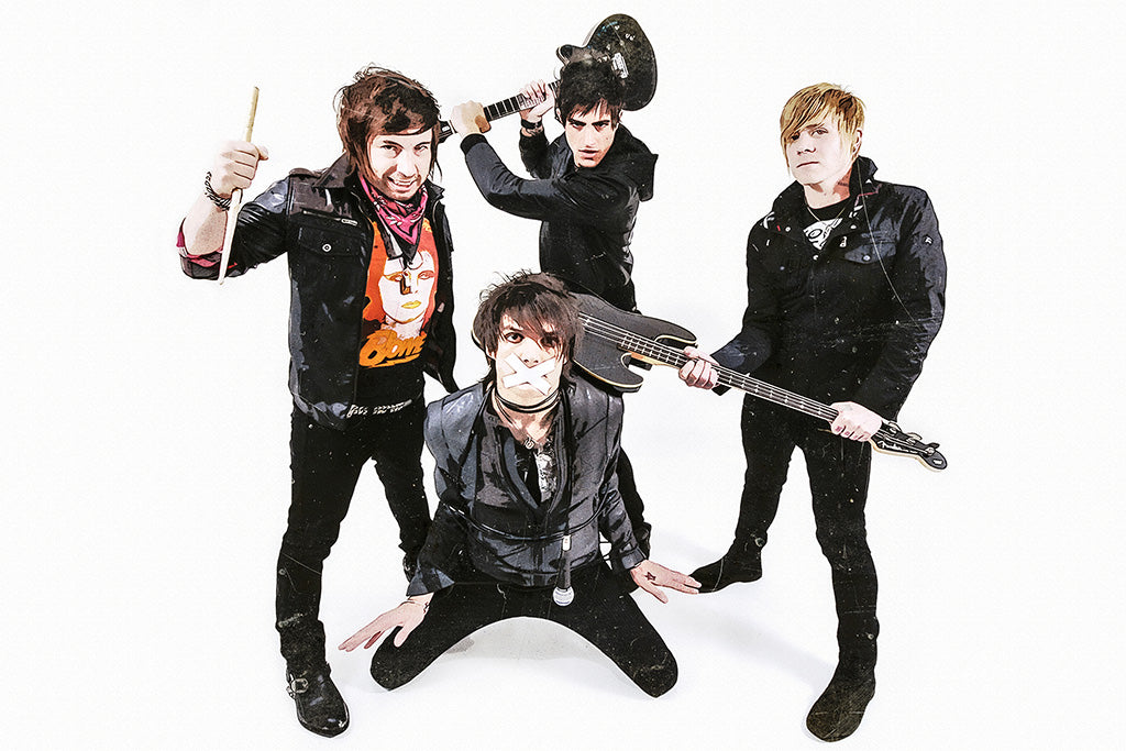 Boys Like Girls Pop Punk Band Poster