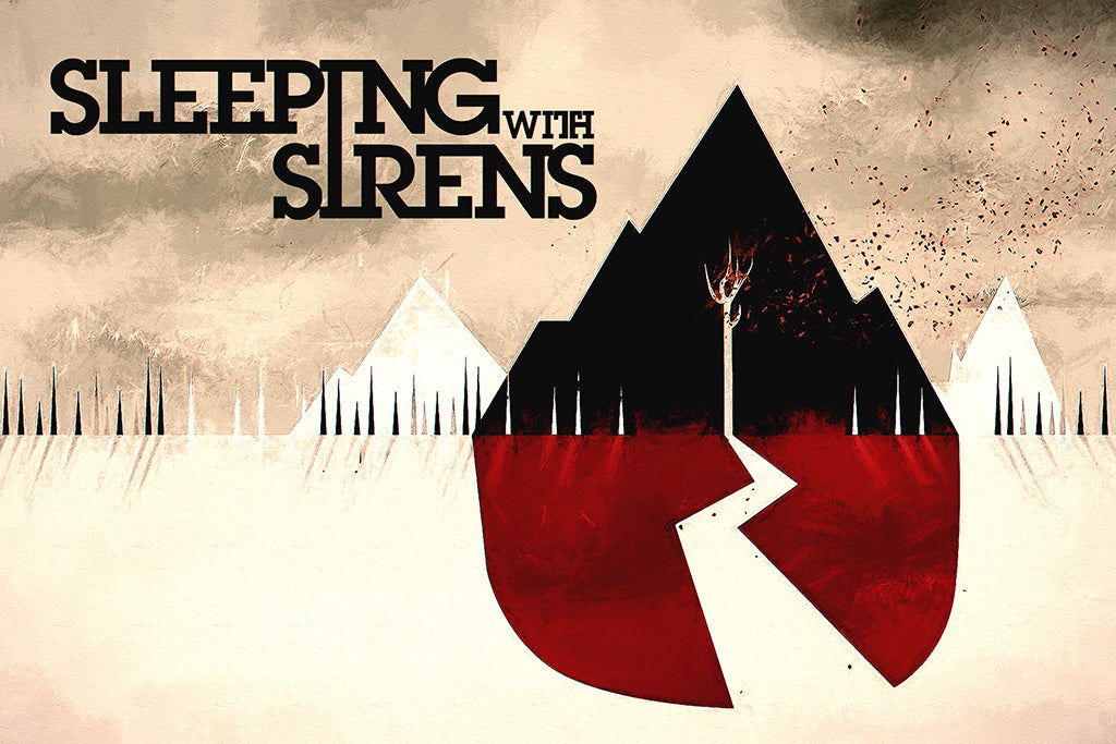 Sleeping with Sirens Pop Punk Band Poster