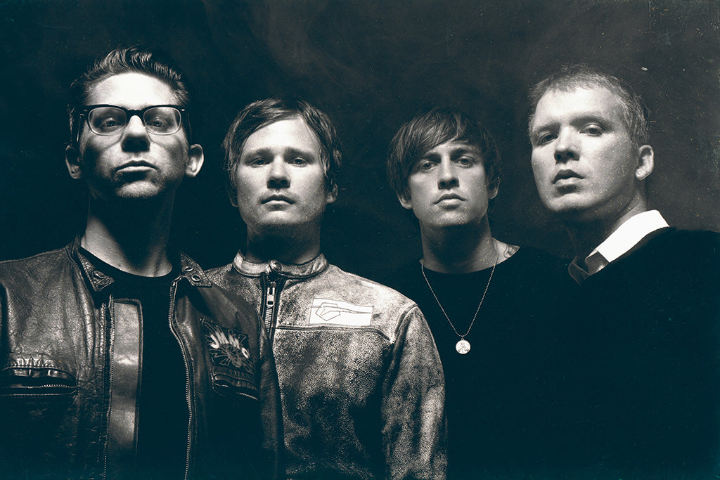 Angels & Airwaves Pop Punk Black and White Poster