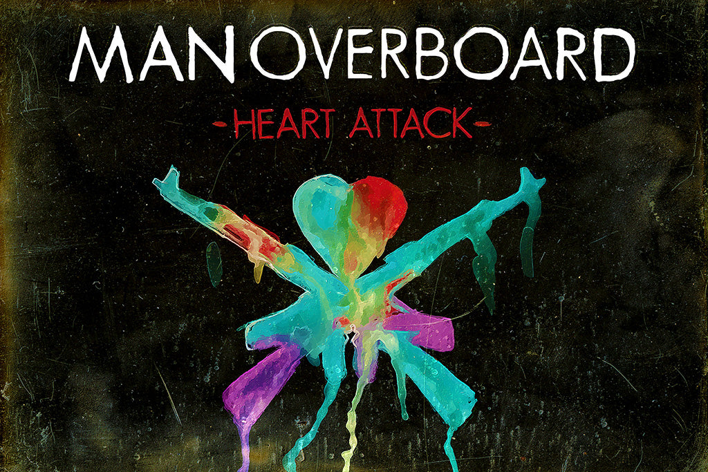 Man Overboard Pop Punk Poster