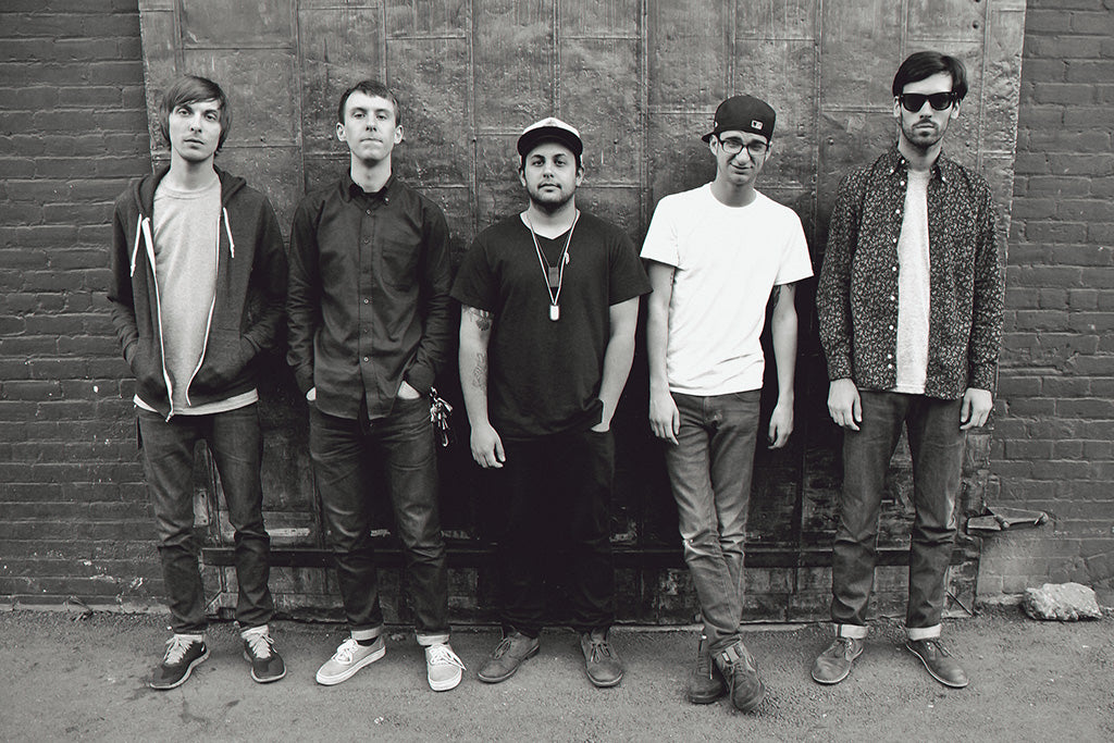 Man Overboard Pop Punk Band Black and White Poster