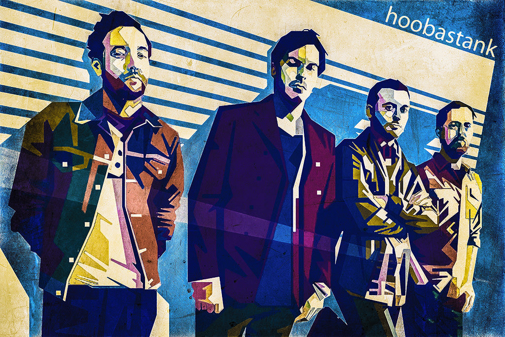 Hoobastank Pop Punk Band Poster