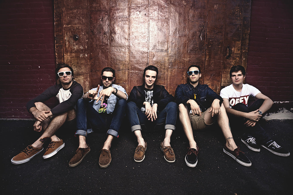 Chunk! No, Captain Chunk! Pop Punk Band Poster