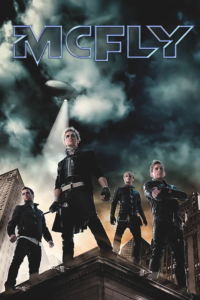 McFly Pop Punk Band Poster