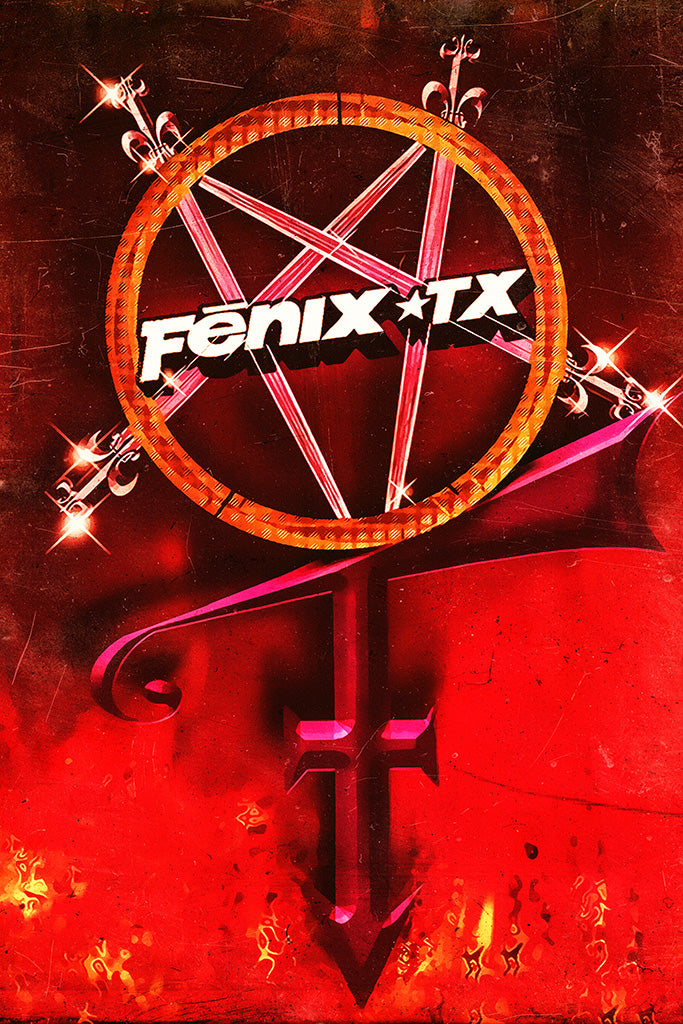 Fenix TX Pop Punk Band Poster
