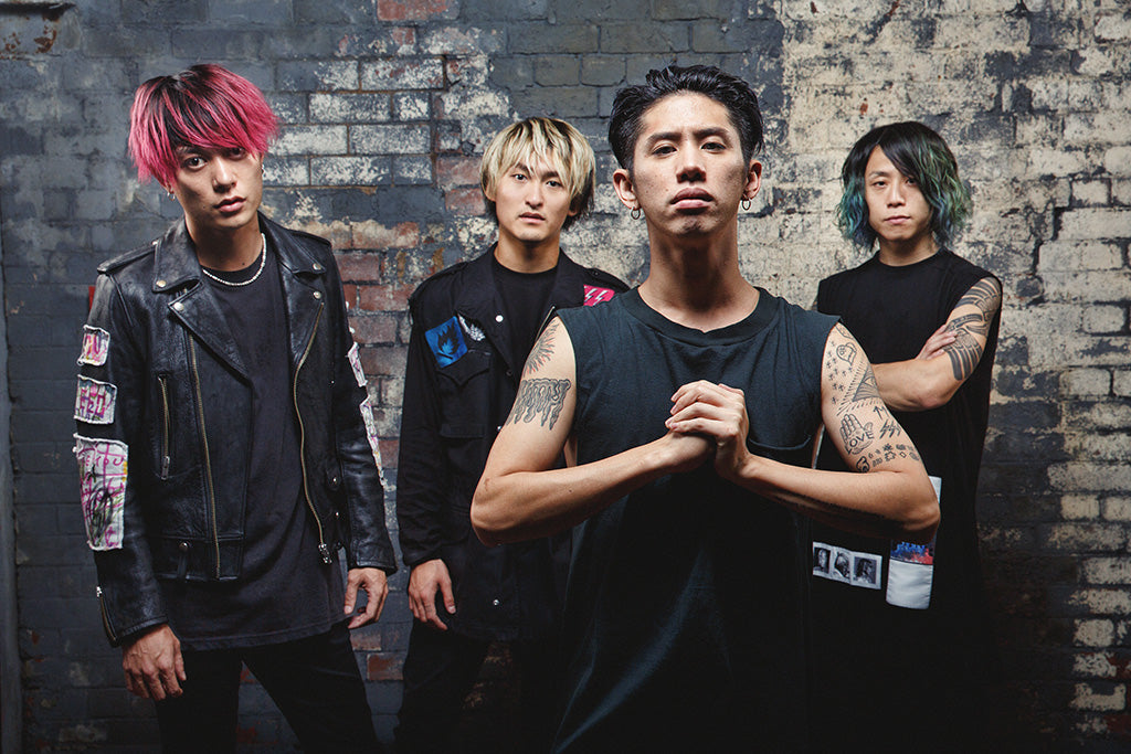 One Okay Rock Pop Punk Band Poster