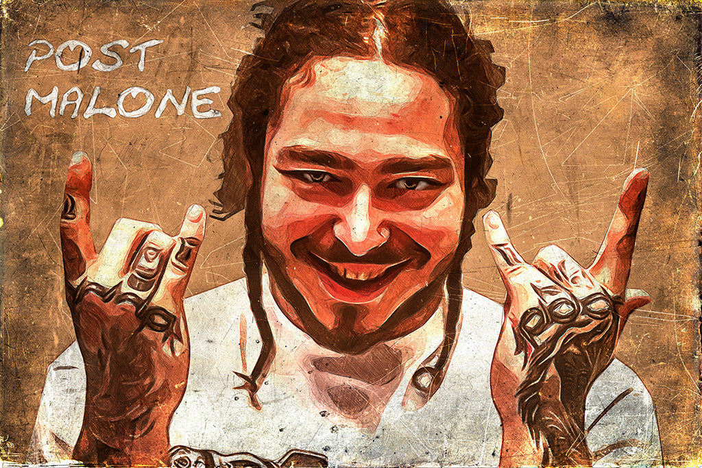 Post Malone Rock Star Fan Art