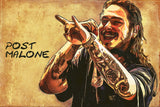 Post Malone Hip Hop Fan Art Poster