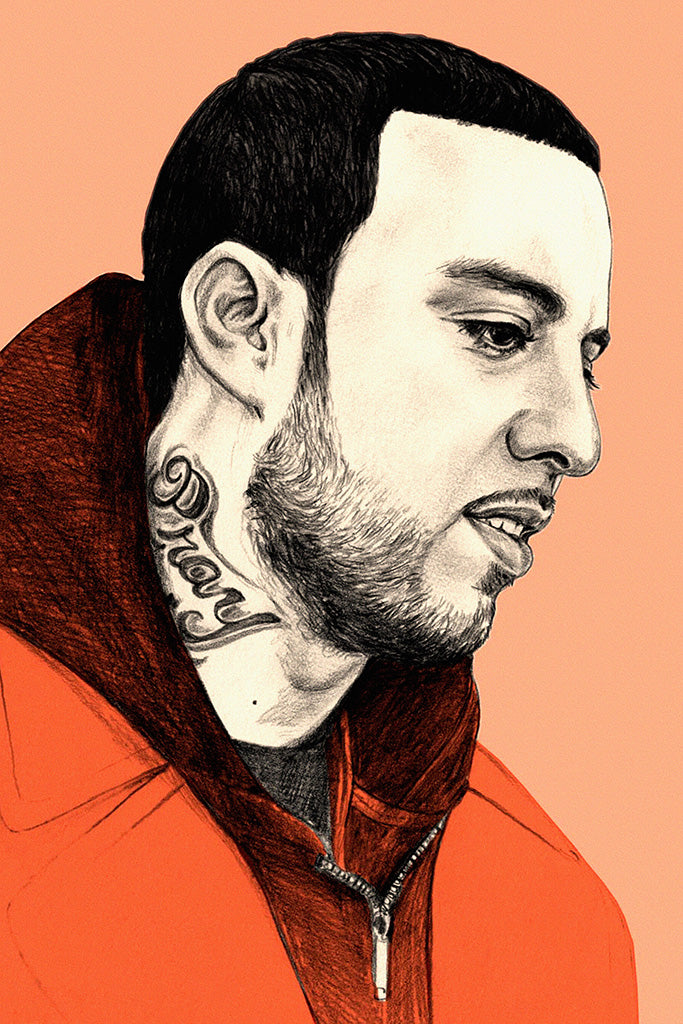 French Montana Art Poster